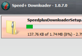 Speed  Downloader 1.0.7.0 برنامج تسريع Speed-Downloader-thu